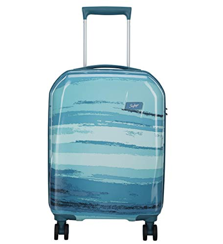 Skybags Rover Polycarbonate 55.3 Blue Hardsided Cabin Luggage Rover