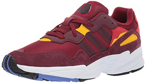adidas Originals Men's Yung-96, Collegiate Burgundy/Maroon/Bold Gold 10 M US