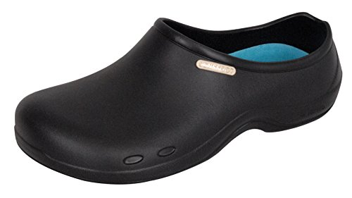 Non Slip Mens and Womens Chef Clog Shoes for Kitchen Bathroom Work ...