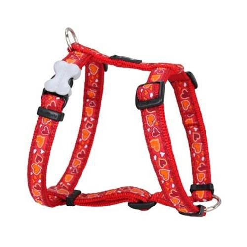 Red Dingo Breezy Love Red XS Dog Harness