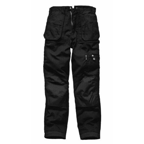 Dickies Eisenhower Work Trousers (Regular) / Mens Workwear (34W x Regular) (Black)