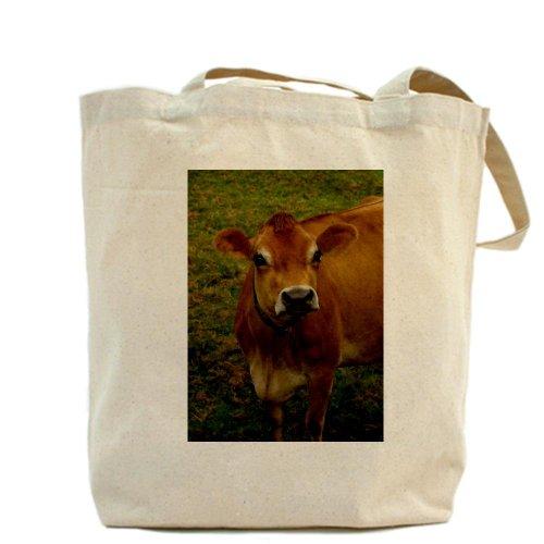 CafePress Tote Bag-Borsa, motivo: mucca
