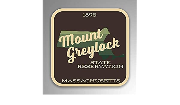 Mount Greylock State Reservation Decal Sticker Explore Wanderlust Camping Hiking