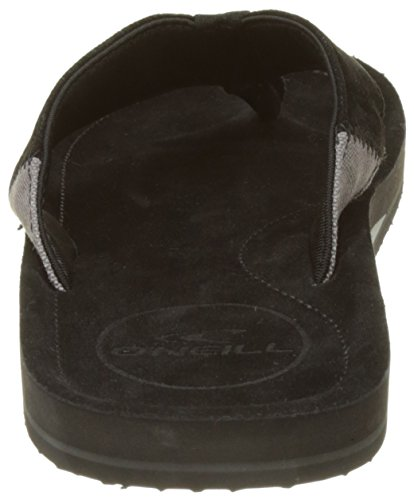 O'Neill Fm Chad Flip Flops - Chanclas Hombre Noir (Black Out)