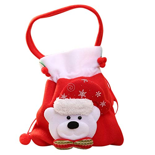 Decorating Style - Home Chic Santa Claus Gift Bag Creative Snowman Candy Bags Party Hats Christmas Tree Decoration - Decoration Styles Quiz Supplies Style Decorating Decorative