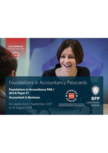 Download FIA Foundations of Accountant in Business FAB (ACCA F1): Passcards pdf epub