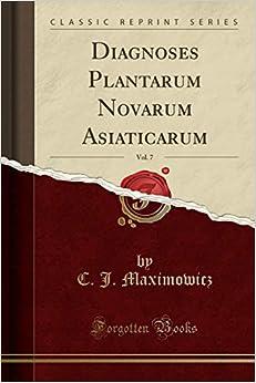 Libros En Para Descargar Diagnoses Plantarum Novarum Asiaticarum, Vol. 7 Epub