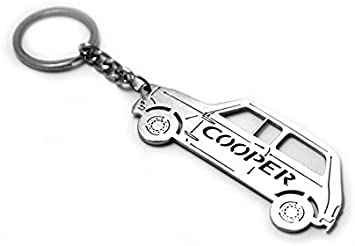MINI keychain for Cooper car auto ogo accesories gift parts