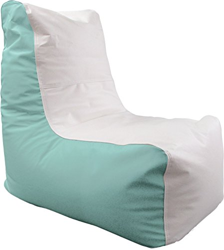 Ocean-Tamer Small Wedge Marine Bean Bag (White/Seafoam) Wedge Tamer
