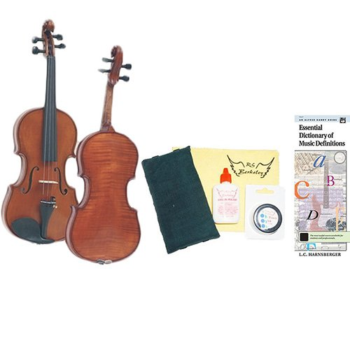 13'' Gigla European Viola 'GEMS 2' Viola Outfit w/Bonus Viola Care Kit Cleaning Kit Deluxe by Gigla Romania