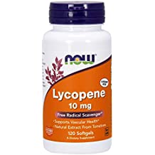NOW Lycopene 10 mg,120 Softgels