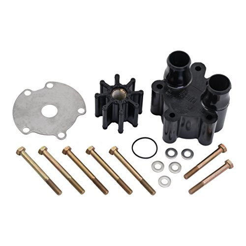 QuickSilver 807151A14 Sea Water Pump Body Kit - MerCruiser Engines with One-Piece Engine Mounted Sea Water Pumps