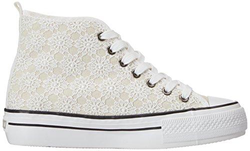 Fiorucci Bianco Sneaker Donna Bianco Bianco Fepa001 fzPfq7wR