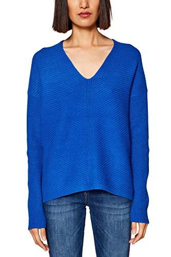 Femme Bleu bright By Edc Pull Blue 410 Esprit wgHt4qxC