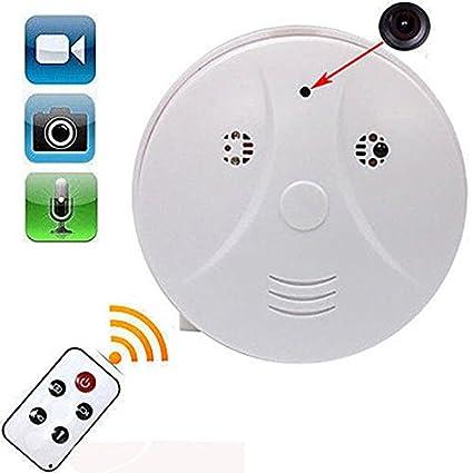 Cámara Espía en Dispositivo para pared o techo Mini DV Videocámara 1280x720P HD Sensor de Movimiento ...