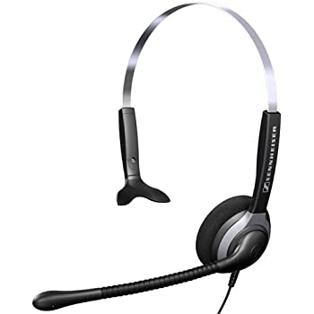 sennheiser sh230 monaural headset with microphone home audio theater. Black Bedroom Furniture Sets. Home Design Ideas