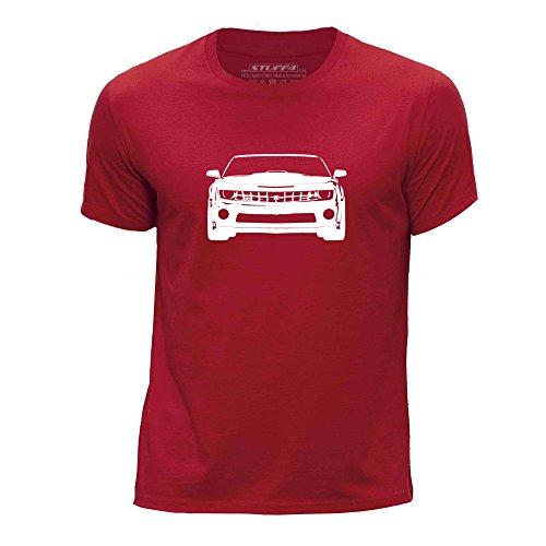 STUFF4 Boy's Round Neck T-Shirt/Stencil Car Art/Camaro SS Mk5/CS
