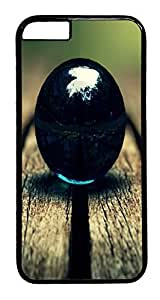 ACESR Circular Ball iPhone 6 Hard Case PC - Black, Back Cover Case for Apple iPhone 6(4.7 inch)