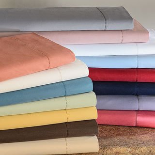Luxurious Sateen Cotton Sheet Set with Large Variety of Colors and 2 Beautyrest Microfiber Bed Pillows (Fawn, King)