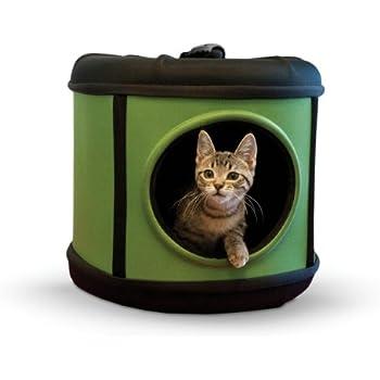 "K&H Pet Products Mod Capsule Green/Black 17"" x 17"" x 15.5"""