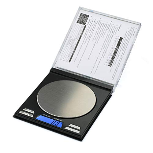 American Weigh Scales CD Series Compact Gram Digital Pocket Scale, Black, 500g X 0.1g (AMW-CDV2-500)