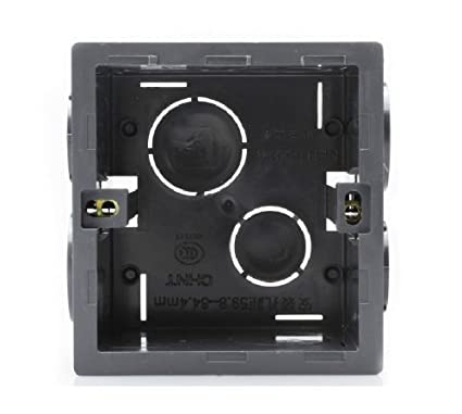 Awesome Itemship 2Pcs Switch Socket Cassette 86 Junction Box Universal Wiring Cloud Tziciuggs Outletorg