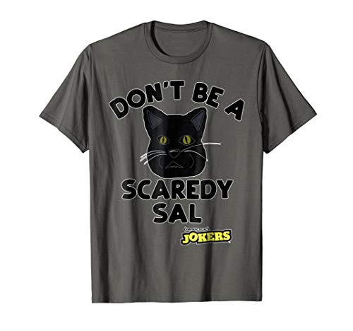 Impractical Jokers Benjamin Cat Don't Be Scaredy Sal T-Shirt