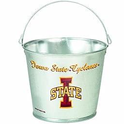 NCAA Iowa State Cyclones 5-Quart Galvanized Pail