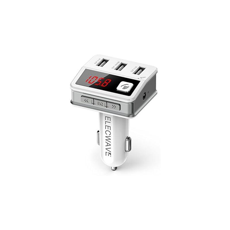 Bluetooth FM Transmitter - Elecwave EB02