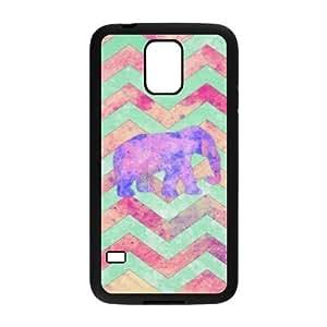 Aztec Elephant ZLB531518 Custom Case for SamSung Galaxy S5 I9600, SamSung Galaxy S5 I9600 Case