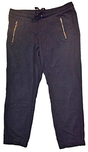 - GAP Womens Navy Knit Zip Pocket Joggers XL