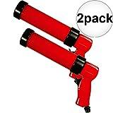 Astro Pneumatic 405 Air Powered Pneumatic Caulking Gun 2-Pack