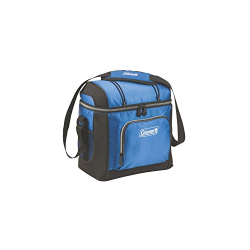 (Coleman Soft Cooler Bag | Keeps Ice Up to 24 Hours | 16-Can Insulated Lunch Cooler with Adjustable Shoulder Straps & Removable Liner | Great for Picnics, BBQs, Camping, Tailgating)