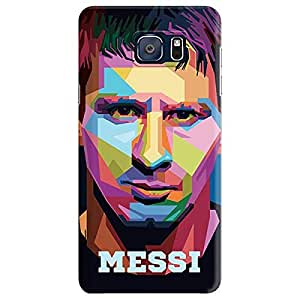 Stylizedd Samsung Galaxy Note 5 Premium Slim Snap case cover Matte Finish - Poly Messi