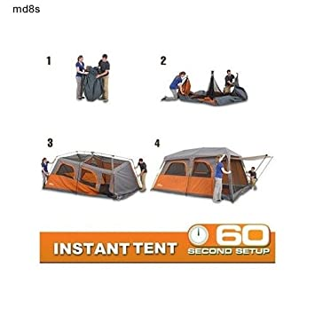 Instant 9-Person Cabin Tent  sc 1 st  Amazon.com & Amazon.com : Instant 9-Person Cabin Tent : Sports u0026 Outdoors