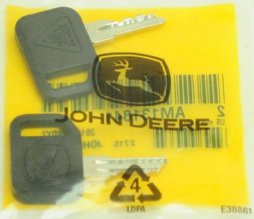 John Deere Original Equipment 2 Keys (John Deere Key)