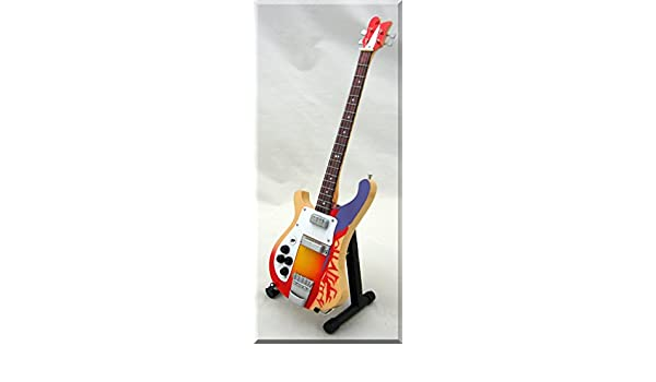 Paul McCartney Guitarra en miniatura Bass New rickemb Beatles Ackermann: Amazon.es: Instrumentos musicales