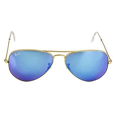 Amazon.com: Ray-Ban Aviator Large Metal Sunglasses RB3025