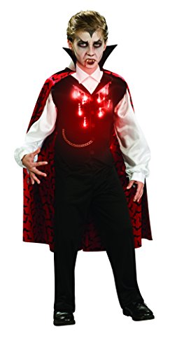 Prince Of Darkness Child Costumes - Rubies Vampire Child Costume, Large, One