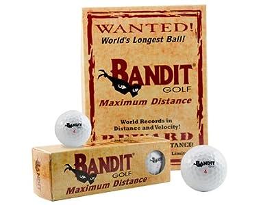 Bandit Golf Ball - Maximum Distance Illegal Ball