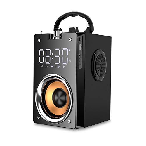 runnerequipment Portable High Power Large Volume Mobile Outdoor Audio Wireless Stereo Bluetooth Speaker Subwoofer Heavy…