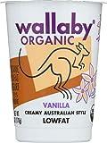 WALLABY Organic Vanilla Blended Lowfat Yogurt, 6 oz