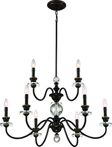 Chandeliers Parisian Finish (Luxury Mediterannean Chandelier, Large Size: 20.25