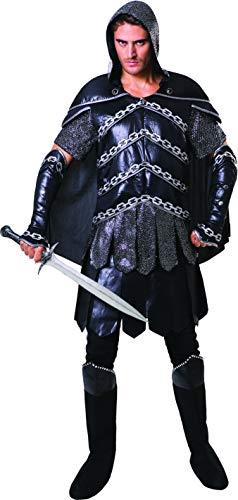 Bristol Novelty Dark Warrior Man Costume Men,