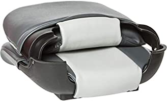 Tempress 45608 All-Weather High-Back Charcoal//Gray Boat Seat Marine Seating