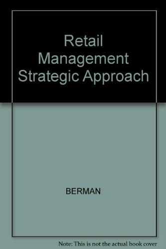 Retail Management Strategic Approach