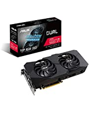 ASUS Dual AMD Radeon RX 5600 XT EVO Top Edition Gaming Graphics Card (PCIe 4.0, 6GB GDDR6 memory, HDMI, DisplayPort, 1081p Gaming, Axial-tech Fan Design, Auto-Extreme, metal backplate) (DUAL-RX5600XT-