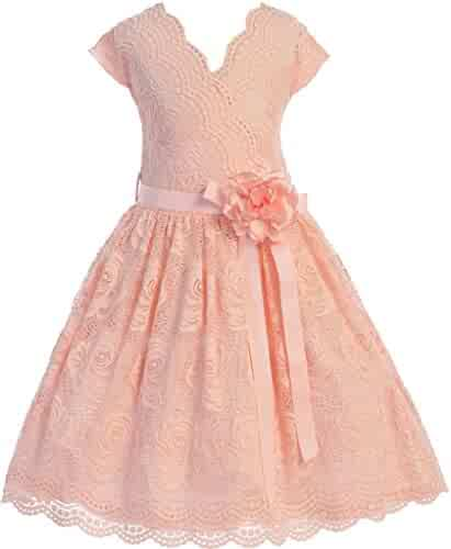 05c51168363 Flower Girl Dress Daily Casual Dress Easter Summer Pageant 9 Colors  Available
