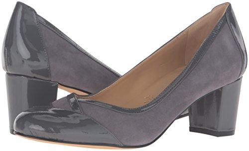 Dress Phoebe Dark Women's Trotters Black Suede N Us Grey Pump 6 EqTwC