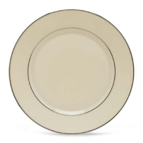 Maywood Accent - Lenox Maywood Platinum Banded Ivory China Butter Plate